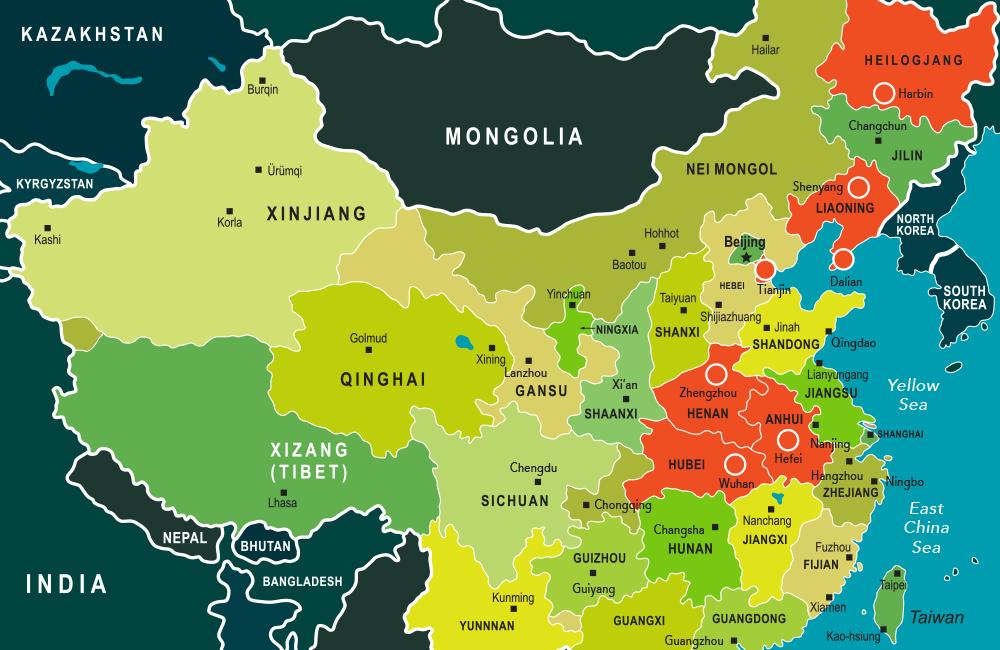 China USEG Map Fall 2021